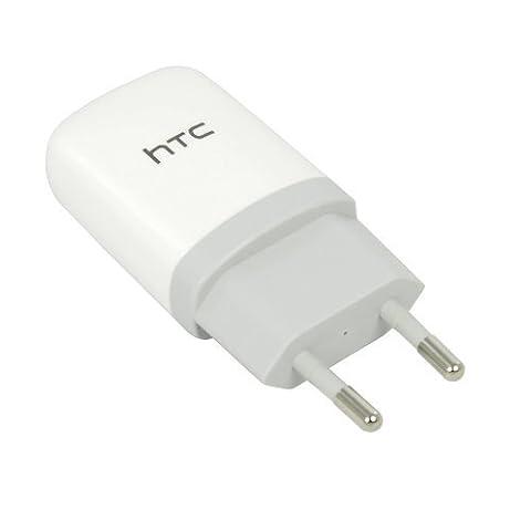 HTC TC E250USB Ladegerät Adapter Sektor (UK Stecker), für HTC HD2, HD7, Wunsch, Wunsch HD, Gratia, Wildfire, Salsa (Ausgang 5V, 1A)–Weiß