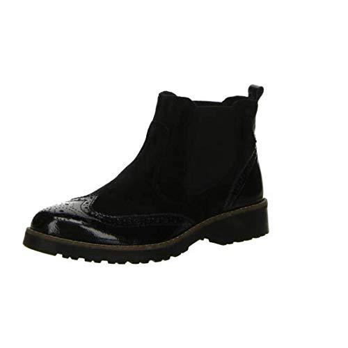 Salamander Chelsea Boots Größe 41 Schwarz (Schwarz)