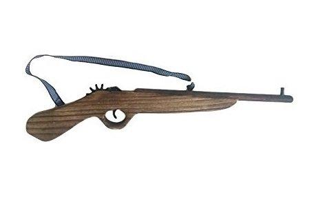 Kurzes Gewehr Pistole Holz Revolver Cowboy Indianer Räuber Gendarme Duellpistole Karneval Fasching Party Spiel von MEIERLE & Söhne