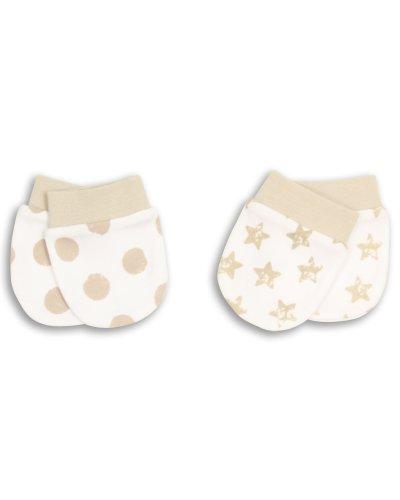 Essential One - Baby Kratzhandschuhe für Neugeborene/Kratzfäustlinge/Kratzfäustel, Neugeborenenhandschuhe (2 Paar) ESS52