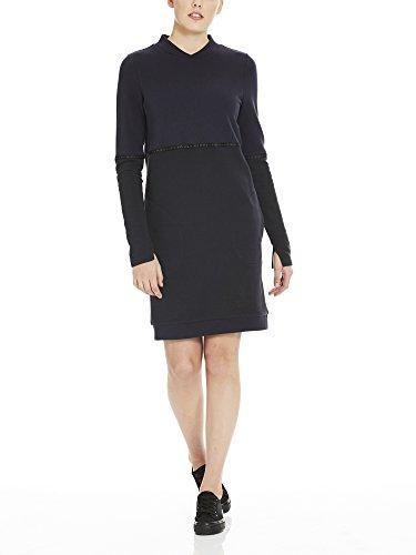 ock Sweat Dress Kleid, Schwarz (Black Beauty Bk11179), X-Large ()
