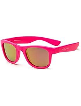 koolsun bebés y niños gafas de sol Wave Fashion 1+ | Neon Pink VERS piegelt | 100% protección UV | Optical Clas...