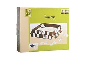 VEDES Großhandel GmbH - Ware 61096094Natural Games Rummy, 106Piedras, Multicolor