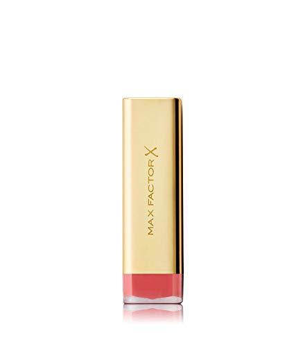 Max Factor Colour Elixir Lipstick English Rose 510, Pflegender Lippenstift, der mit einem brillanten, intensiven Farbergebnis begeistert - Antioxidant Conditioner