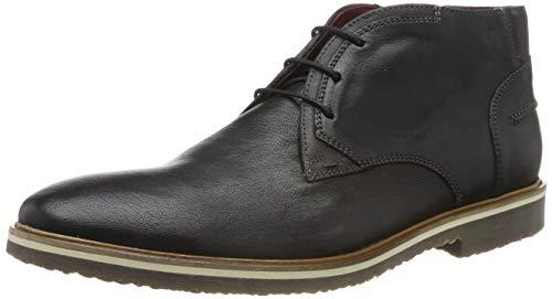 LLOYD Herren Forum Desert Boots, Schwarz/Grey 1, 43 EU