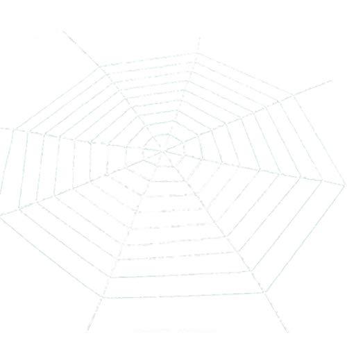 (Partiss Spinnennetz halloween Deko Spinngewebe halloween dekoration Spinnweben,3.6meter White)