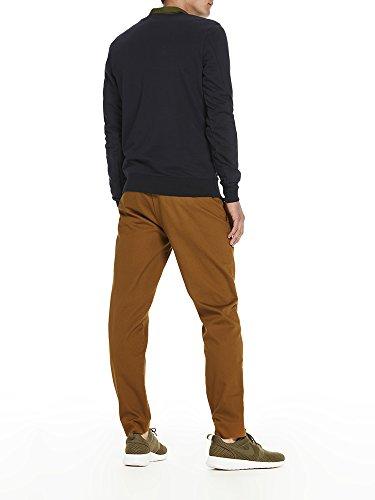 Scotch & Soda Herren Sweatshirt Logo Artwork Sweater Blau (Navy 0004)