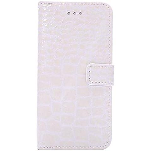 Vollter Custodia in pelle di coccodrillo del modello di iPhone coperchio dell'alloggiamento della scheda vibrazione di 6 / 6S 4.7 stand