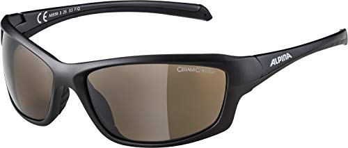 Alpina Sonnenbrille Amition DYFER Sportbrille, tin matt-black, One Size