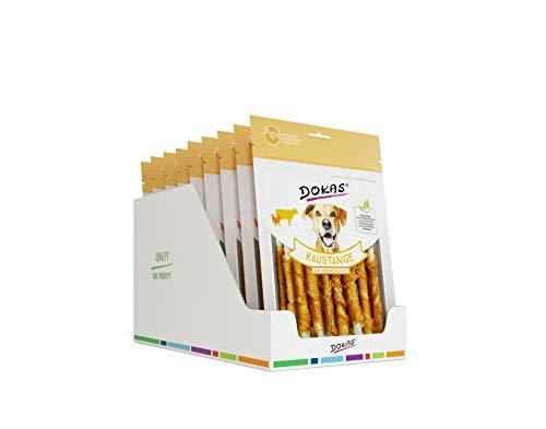DOKAS Kaustange - Getreidefreier Premium Kausnack für Hunde, 9er Pack (9 x 200g)