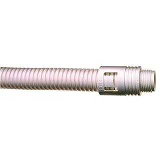 Adaptaflex KF25/M25/A/W Korifit M25 IP65 Fitting, Polyamide/Nylon 6.6, White (Pack of 10)