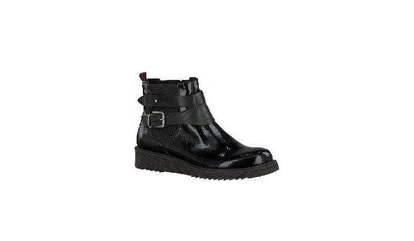 TAMARIS Stiefelette 1 1 25939 33 018 black patent, schwarz