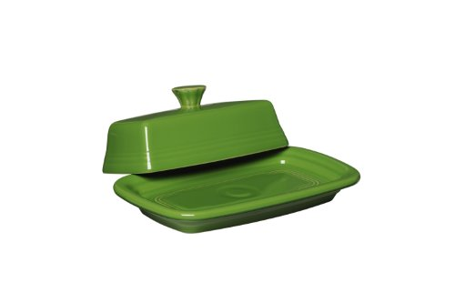 Fiesta Covered Butter Dish, X-Large, Shamrock by Homer Laughlin (Geschirr Fiesta Shamrock)