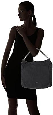 BREE - Fantastic 10, Anthra, Hobo W17, Shoppers y bolsos de hombro Mujer, Grau (Anthra), 15x34x37 cm (B x H T) de BREE