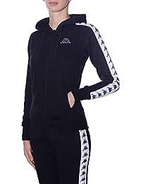 Kappa 921 Black-White Banda AS Abbigliamento Donna Giacca 3031R00