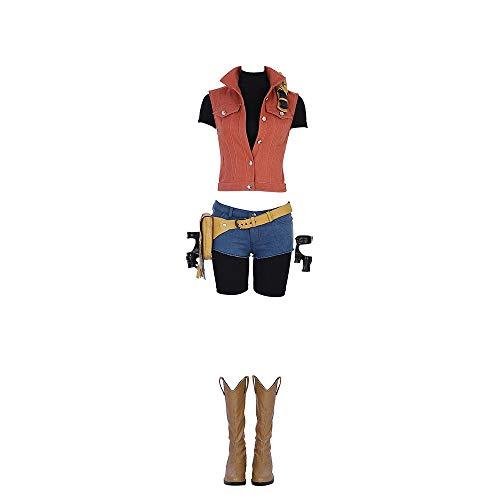 Resident Evil 7: Biohazard - Claire Redfield weibliches Cosplay-Kostüm - - (Weibliche Videospiel Kostüme)