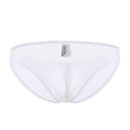 M-2XL Männer Ice Silk Slips Herren Unterwäsche Unterhose Briefs Underwear Panties Unterhosen Retroshorts Underpants CICIYONER