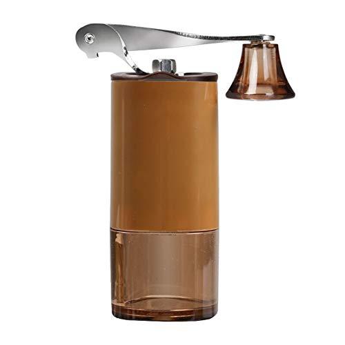 WXQYR Mini Manuelle Kaffeemühle Handkaffeemhle Einstellbar Kaffemühle Kompakte Kunststoff Perfekt...