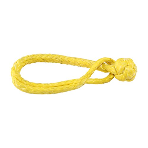 Pro-Rope 7/32 Zoll (6mm) UHMWPE Softschäkel Gelbe Farbe