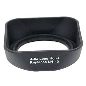 JJC LH-J40 Gegenlichtblende (Streulichtblende, Sonnenblende) für Olympus LH-40 M.Zuiko Digital 14-42mm f/3.5-5.6 II (R) E-P1 E-P2 E-PL1 E-PL2 (made by JJC)