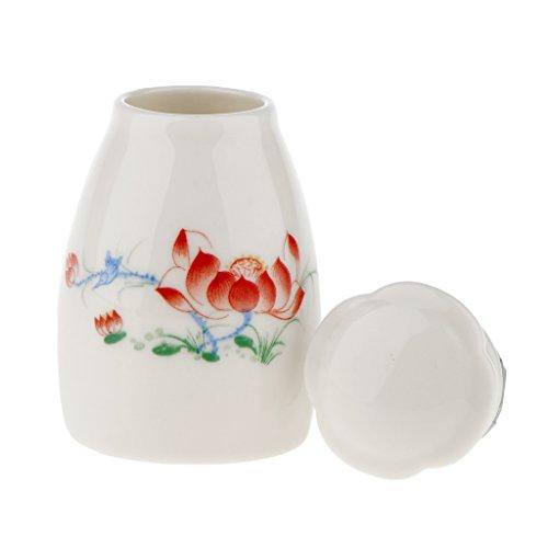Baoblaze Traditionell Vorratsdose Behälter Flasche Bottle für Pulver Öl Tee Kaffee Honig, Ideal...
