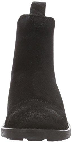 Sofie Schnoor Low Boot With Fur, Bottes Motardes femme Noir (Black)