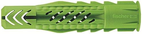 fischer-518885-6-x-35-mm-ux-r-universal-plug-zinc-40-piece