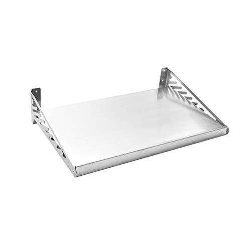 WXP Kitchen furniture - Küchen-Regal aus Edelstahl für die Wandmontage Mikrowelle Rack-Aufbewahrungshalterung -Küchenschränke und Besteckschränke (größe : 40X60X12.5CM)