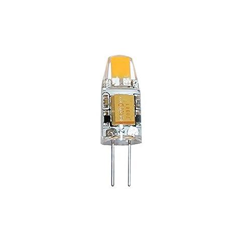 LED G4 COB 1W 12V warmweiß 2700K Ersatz für Halogenleuchtmittel 360° (1 Watt)