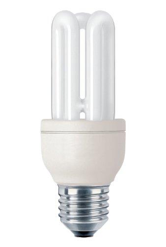 Philips Lighting Genie Lampadina a Risparmio Energetico a Tubi Scoperti Attacco E27 11W Equivalente a 50W, 50 W, Bianco, 50 W