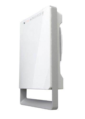 Radialight TBSLI003 Termoventilatore Digitale Touch, 1800 W, Bianco Lucido/Grigio