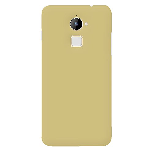 Roxel Premium 3D Rubberised Matte Hard Case Back Cover For Coolpad Note 3 Lite-Gold