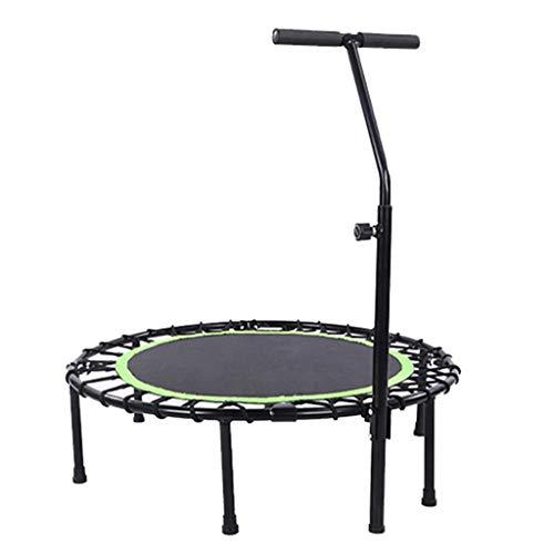 XYWLYLHOME Trampolin FüR Erwachsene FüR Kinder Indoor-Trampolin FüR Kinder Mit Verstellbaren Armlehnen Tragbares Trampolin - 40 Zoll