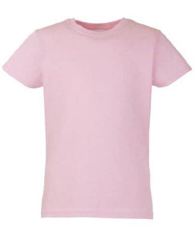 Fruit of the Loom Mädchen T-Shirt SS079B 152,Rosa - Light Pink