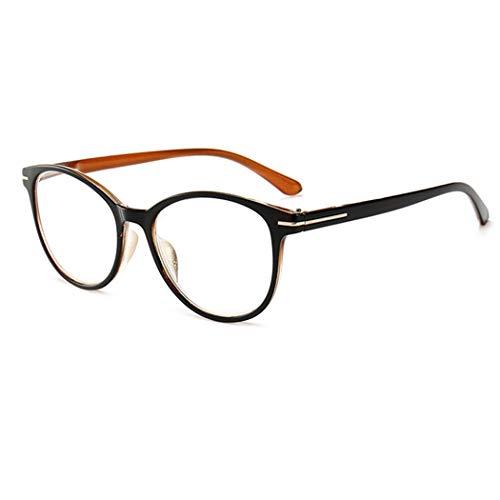 Tankaa Lesebrillen Federscharnier Männer Frauen Gläser Vollrandbrille Mode Retro Runde Große Linse