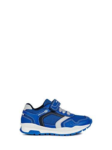 Royal 6 Licht (Geox Jungen Low-Top Sneaker HOSHIKO Boy J845GA Kinder Halbschuh,Sportschuh,Klettschuh, Klett-Verschluss,ROYAL/Navy,30)