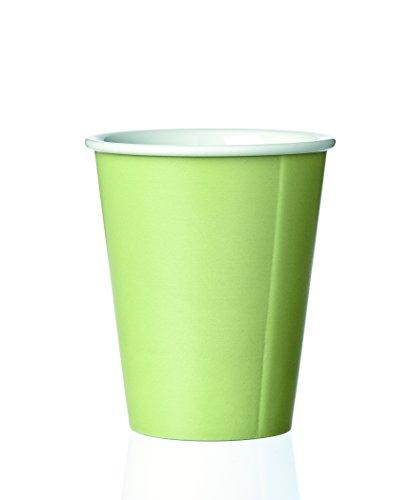 Viva Scandinavia - Andy - Tasse en Porcelaine Vert 300 ml