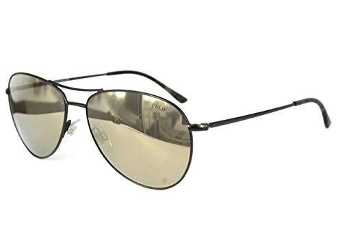 Polo ralph lauren ph3084, occhiali da sole uomo, verde (matte green), taglia unica