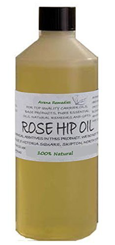 100% Pure Rosehip Oil: Natural Cold Pressed Refined for dry, mature, sensitive skin 100ml by Avena Remedies