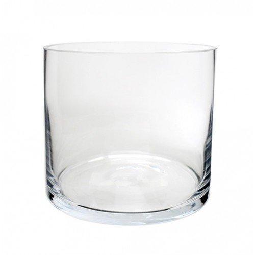 Royal Imports Vaso in vetro decorato con albero centrale decorativo per matrimonio o casa 5 pollici di larghezza x 5 pollici di altezza Chiaro