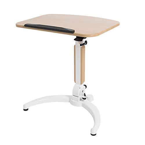 ZHEDAN Klappbarer Laptop-Wagen, Mobiler Steh-Laptop-Schreibtisch, Mobiler Steh-Schreibtisch, Höhenverstellbare Plattform, Geeignet Für Präsentationen Im Home-Office - Laptop Cooling-plattform