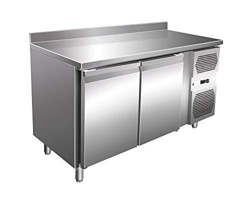Arbeitstisch Türen (Kühltisch mit 2 Türen Arbeitstisch Kühlschrank Vorbereitungstisch Pizzatisch Gewerbe Gastronomie)