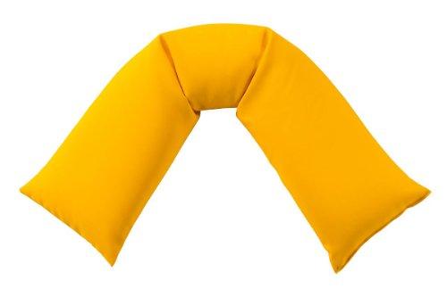 seitenschlaferkissen-budget-gelb-130-x-30-cm