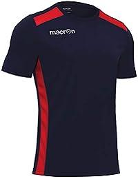 281a94062f62 T-Shirt Sportiva Uomo Maglia da Calcio Calcetto Palestra Running Macron  Sirius
