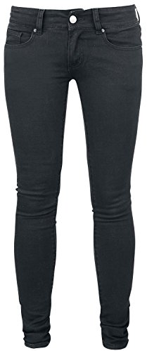 R.E.D. by EMP Vicky (Skinny Fit) Jeans donna nero W31L34
