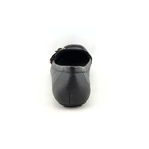 Isaac Mizrahi Amberlyn Femmes Large Cuir Mocassin Black