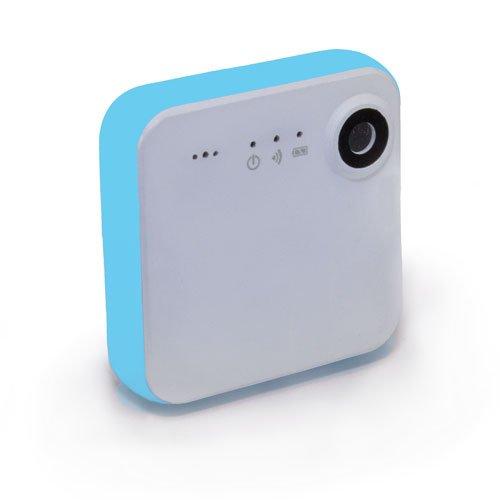 iON SnapCam Videocamera HD Indossabile con Wi-Fi e Bluetooth, Bianco