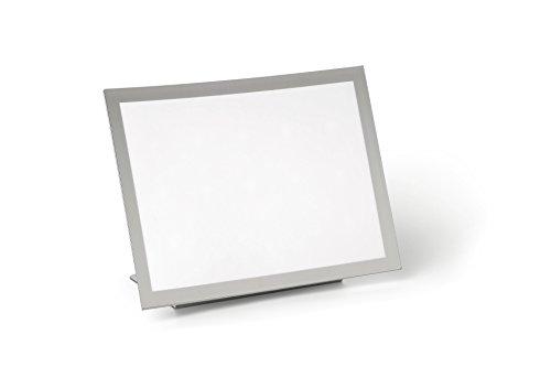Durable 497923 Tischaufsteller Duraview Table (mit Magnetrahmen, für Aushänge in A4) 1 Stück silber