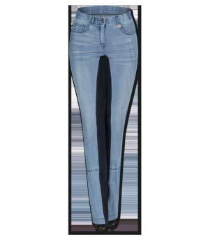 Waldhausen Jeans-Jodhpurreithose Harmony, blau, Gr. 40, blau, blau/Nachtblau, 40