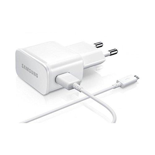 Samsung Galaxy Tab 3 10.1 P5200 Chargeur secteur 2A + cable BLANC Micro USB d'Origine ETA-U90EWE
